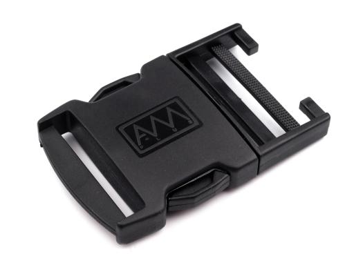 Spona trojzubec šírka 42 mm Black 5pár