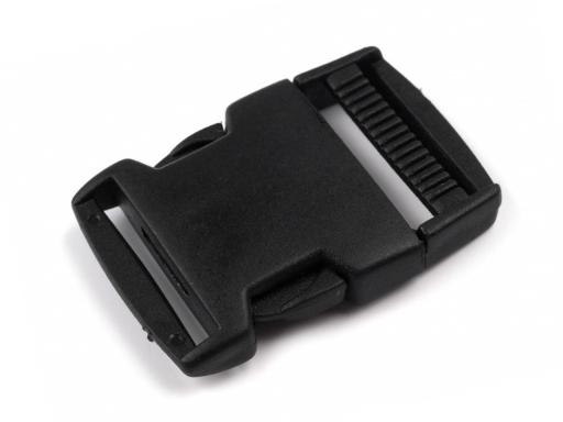 Spona ladvinková s regulátorom vnútorná šírka 30mm Black 5pár