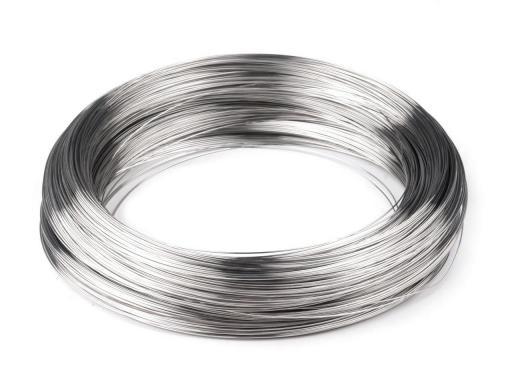 Pamäťový drôt na výrobu náramkov Ø5 cm 2. akosť platina 1000g