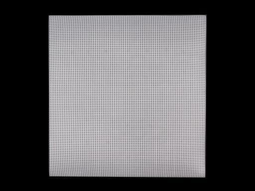 Plastová kanava / mriežka vyšívacia 37x41,5cm smetanová 1ks