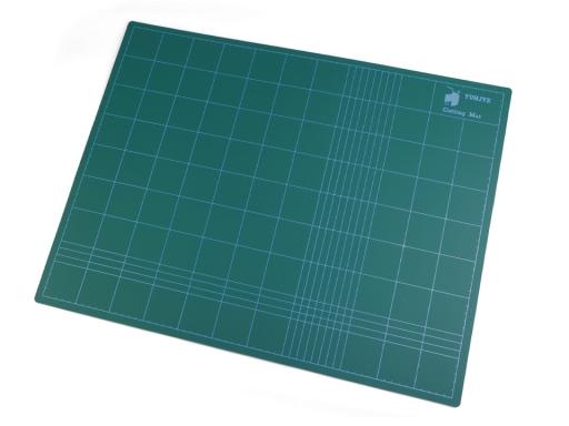 Rezacia podložka 45x60 cm obojstranná zelenomodrá 1ks