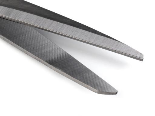Nožnice Marlen dĺžka 21 cm univerzálne červená sv. 1ks