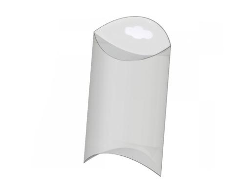 Plastová krabička na zavesenie 5x7 cm priehľadná 5ks