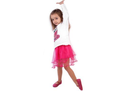 Karnevalová sukienka - detská obojstranná fialová lila 1ks