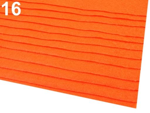 Látková dekoratívna plsť / filc 20x30 cm šedá 12ks