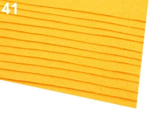 Látková dekoratívna plsť / filc 20x30 cm šedá popol 12ks