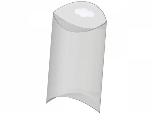 Plastová krabička na zavesenie 10x15 cm Transparent 5ks