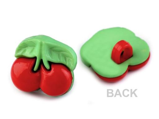 """Gombík veľkosť 26"""" a 28"""" ovocie jablko červené 50ks"""