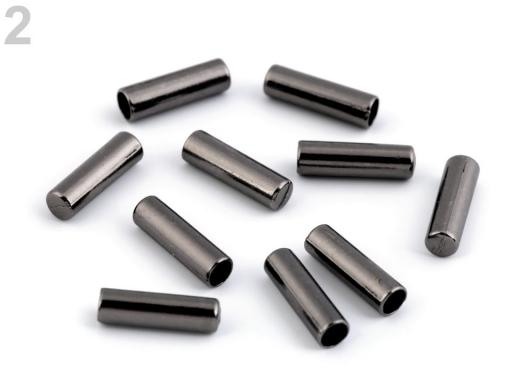 Kovová koncovka Ø4 mm nikel čierny 10ks