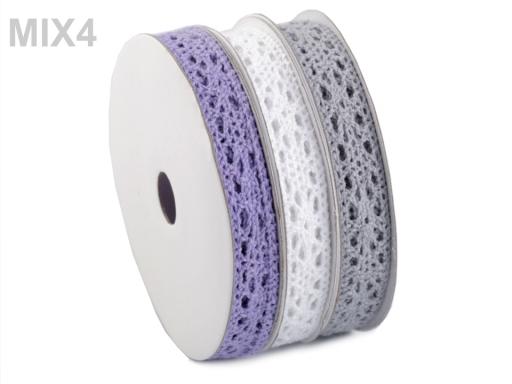 Bavlnená čipka mix šírka 13 mm
