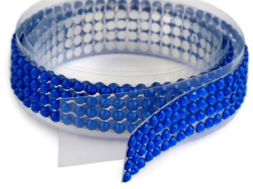 Samolepiaca páska šírka 13 mm perly a kamienky perlová 1ks