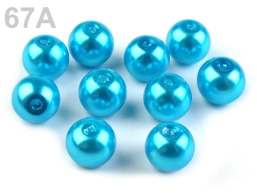 Voskované perly Ø8 mm pudrová 50g