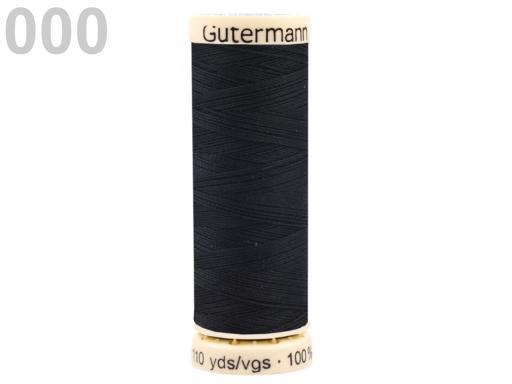 Nite polyesterové návin 100m Gütermann univerzálne Black 5ks