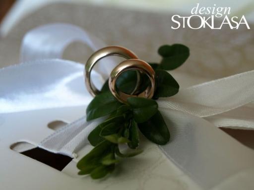 Dekorácia prstene strieborná 50pár