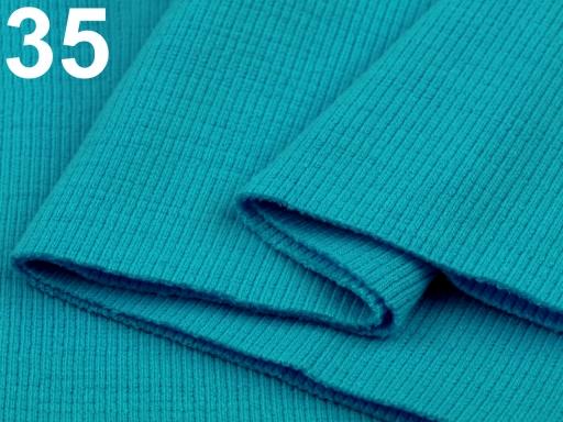 Úplety elastické rebrované - 16x80 cm Carmine 1ks