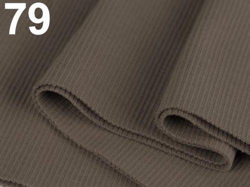 Úplety elastické rebrované - 16x80 cm Sea Crest 1ks