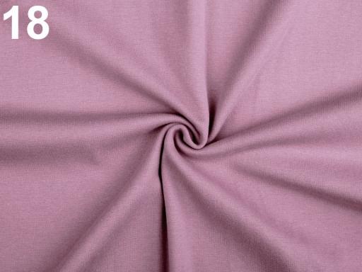 Úplet bavlnený elastický hladký / úplet modrá tmavá 1m