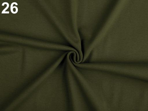 Úplet bavlnený elastický hladký / úplet bordó 1m