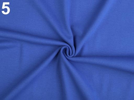 Úplet bavlnený elastický hladký / úplet červená 1m