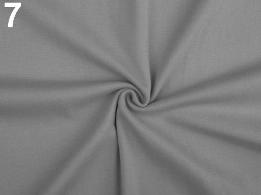 Úplet bavlnený elastický hladký / úplet tyrkysová 1m