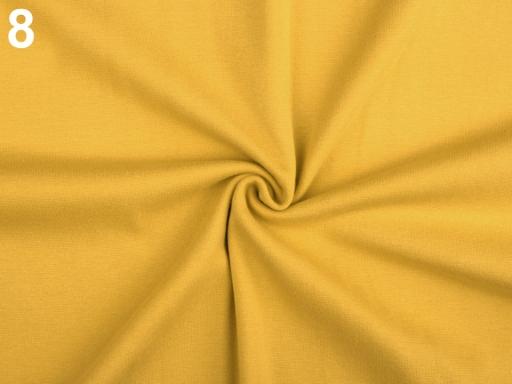 Úplet bavlnený elastický hladký / úplet tyrkys 1m