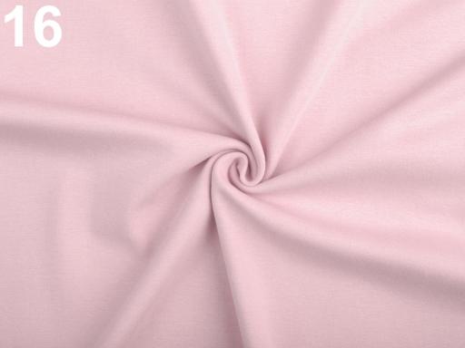 Úplet bavlnený elastický hladký / úplet šedá perlovo 1m
