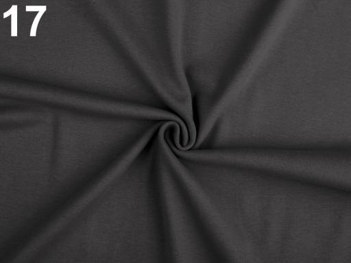 Úplet bavlnený elastický hladký / úplet horčicová 1m