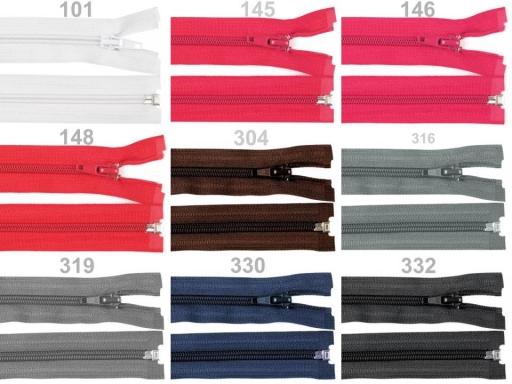Špirálový zips šírka 5 mm dĺžka 45 cm bundový POL Eclipse 1ks