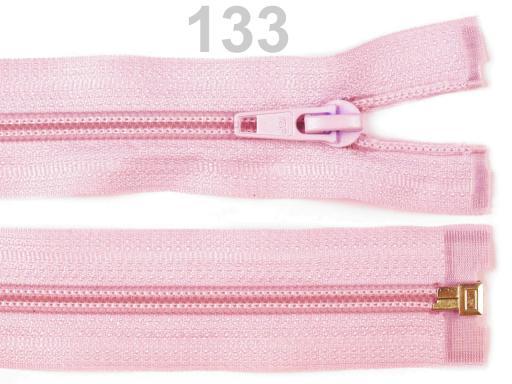 Špirálový zips šírka 5 mm dĺžka 45 cm bundový POL Black 1ks