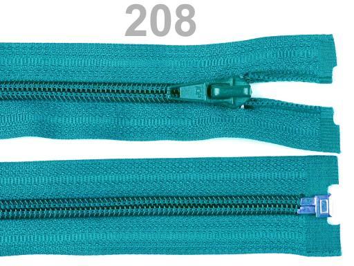 Špirálový zips šírka 5 mm dĺžka 45 cm bundový POL High Risk Red 1ks