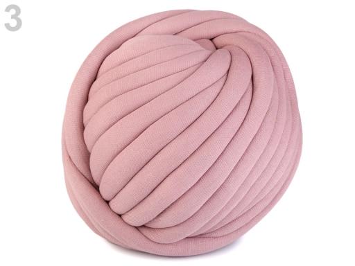 Priadza Marshmallow hrubá 750 g staroružová sv. 1m
