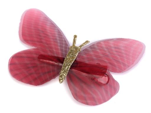 Motýľ s klipom