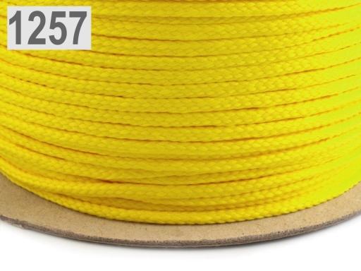 Odevná šnúra PES Ø4 mm Afterglow 1000m