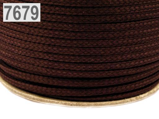 Odevná šnúra PES Ø2 mm Avocado 50m