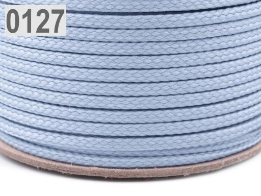 Odevná šnúra PES Ø2 mm Cashmere Blue 250m