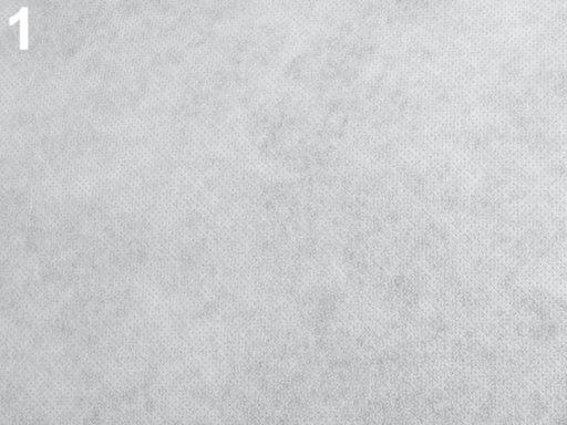 Novopast 60+18g/m2 šíře 90 cm netkaná textilia nažehlovacia White 1m