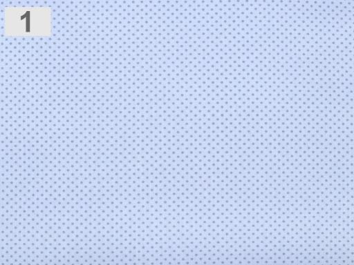 Mäkčená bavlnená látka modrá ľadová 1m