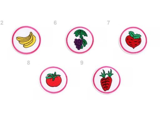 Nažehlovačka ovocie, zelenina žltá 10ks