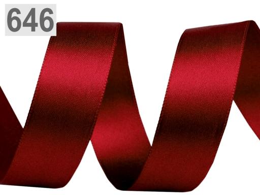 Atlasová stuha obojlíca šírka 24mm Vanilla Ice 20m