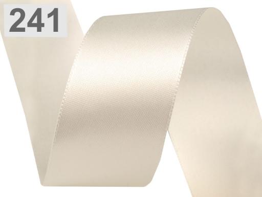 Atlasová stuha obojlíca šírka 40 mm Limelight 20m