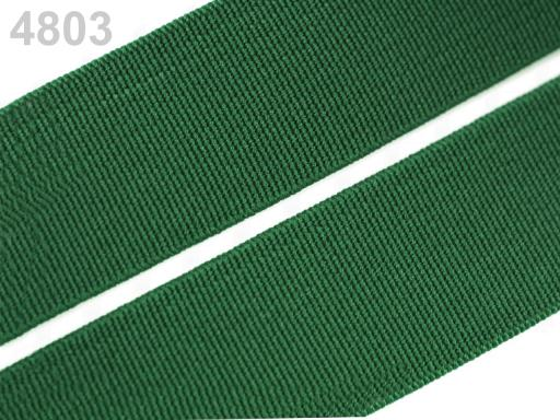 Guma hladká šírka 20mm tkaná farebná ČESKÝ VÝROBOK Amazon 25m