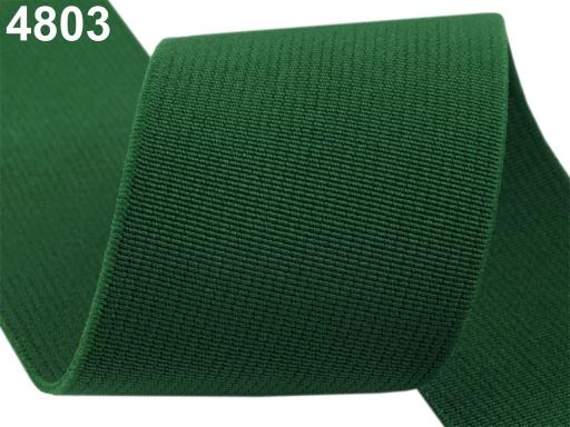 Guma hľadká šírka 50mm tkaná farebná ČESKÝ VÝROBOK Charcoal Gray 25m