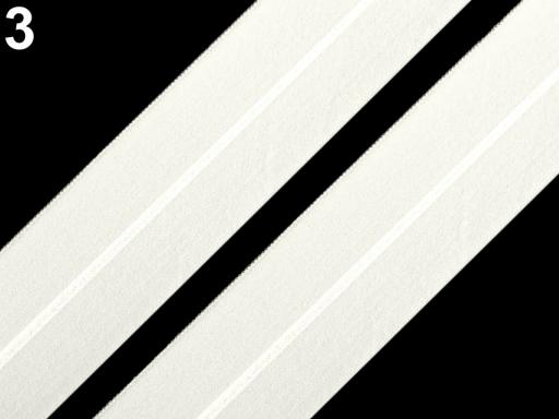 Lemovacia guma mat šírka 30 mm Black 18m
