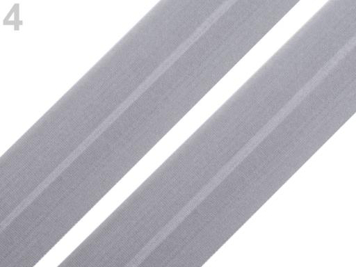 Lemovacia guma mat šírka 30 mm biela 18m