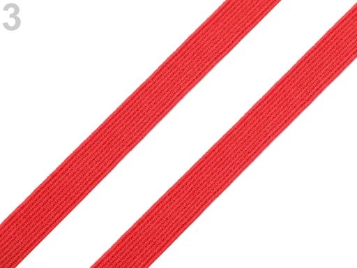 Guma na spodnú bielizeň šírka 10 mm farebná červená 90m