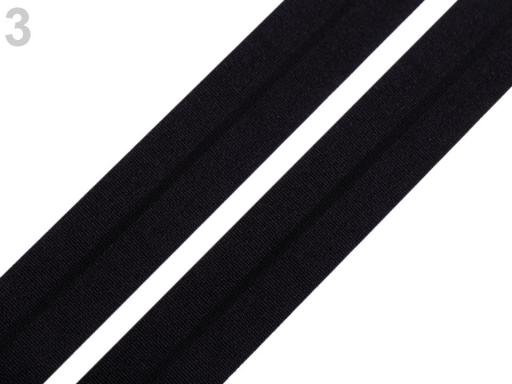 Lemovacia guma mat šírka 20 mm modrá temná 20m