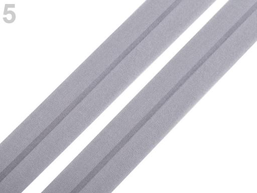 Lemovacia guma mat šírka 20 mm čierna 20m