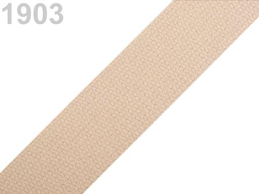 Popruh bavlnený šírka 30mm ČESKÝ VÝROBOK Summer Melon 75m