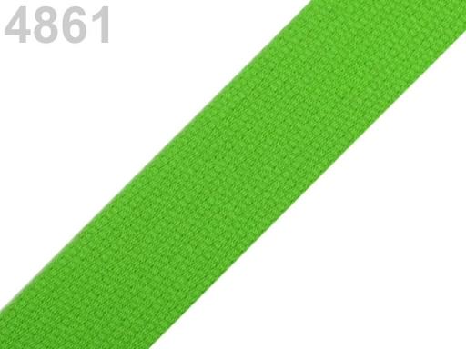 Popruh bavlnený šírka 30mm ČESKÝ VÝROBOK High Risk Red 75m