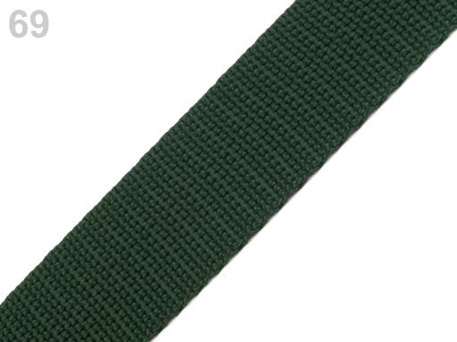 Popruh polypropylénový šírka 20 mm Tropical Green 25m